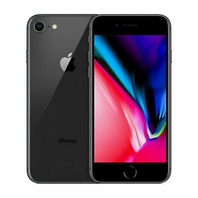 Apple iPhone 8 - 64GB - Space Gray A1905 GSM UNLOCKED ~MRF~ VERY GOOD!