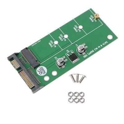 """NGFF M.2 SSD To 2.5"""" SATA 3 Adapter Card For 30/42/60/80mm M.2 SSD Hard Drive"""