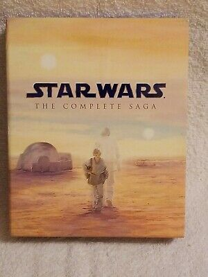 Star Wars (The Complete Saga) Blue Ray - 9 Dvd's and booklet