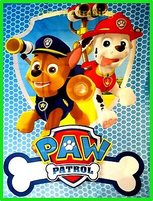 Brand new PAW Patrol boys kids girls children cartoon Blanket throw rug