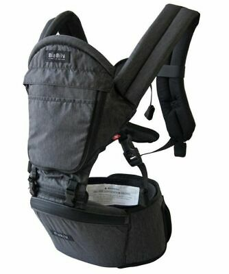 Mia Mily Infant Hipster Carrier Charcoal Grey