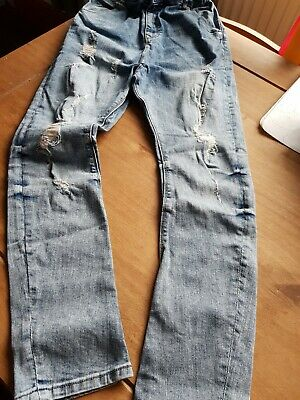 Boys Distressed Jeans From River Island Age  12yrs