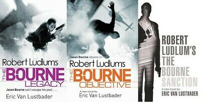 Lot of 3 Robert Ludlum's Bourne books by Eric van Lustbader