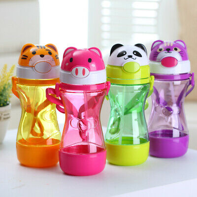 Children Portable Drinking Tube Straw Cover Spill-proof Cup Cap Bottle Favo L8U3