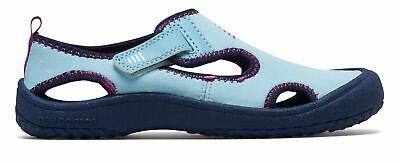 New Balance Kid's Cruiser Sandal Little Kids Female Shoes Blue with Navy & Pink