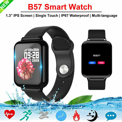 B57 Smart Watch Heart Rate Fitness Tracker Sport IP67 Waterproof For iOS Android