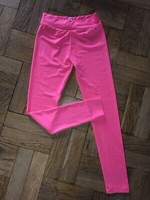 TU Girls Bright Pink Sports Leggings - Age; 10 Years - Worn Once