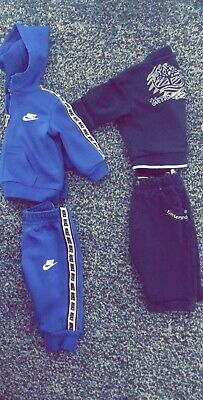 0-3 Month Timerland And Nike Tracksuit With Adidas Trainers