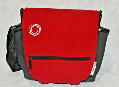 Bugaboo Nappy Changing Bag With Red Cover Free Post Great Buy