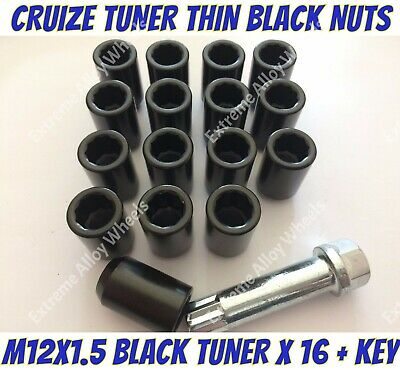 Locking Wheel Nuts 12x1.5 Bolts Tapered for Dodge Caliber 06-16