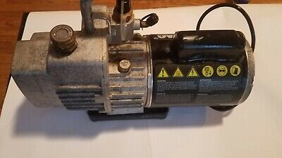 Yellow Jacket Superevac 93560 Two Stage 6 Cfm 115 Volt Vacuum Pump 1/2 Hp