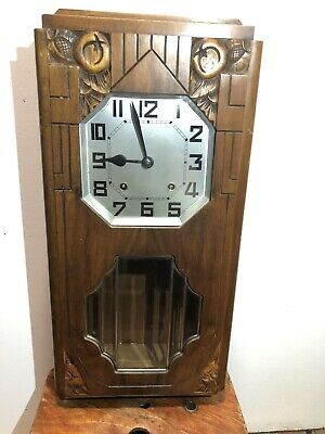 Vintage Wind Up Wall Clock