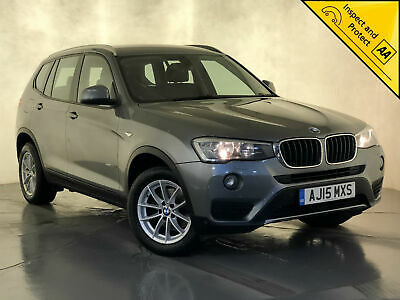 2015 Bmw X3 Xdrive 20D Se Auto Leather Interior Parking Sensors Sat Nav 1 Owner