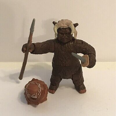 Star Wars Return of the Jedi Tippet Ewok Action Figure Hasbro (2012) Toys R Us