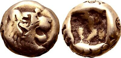 WORLD'S OLDEST COIN! LYDIA Alyattes Croesus 610-546 BC EL 1/12 stater