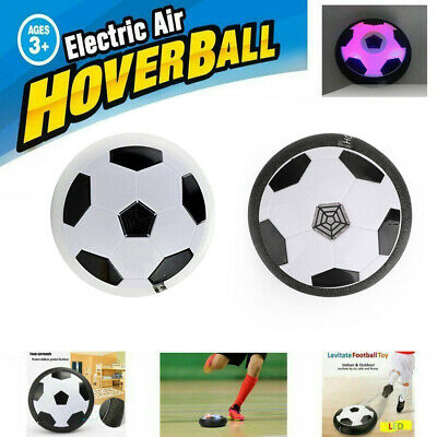 LED Kids Air Power Soccer Indoor Outdoor Disc Toy Gift Hover Football UK