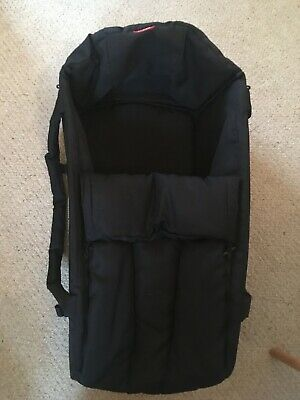 Phil and Teds cocoon - black carrycot in excellent condition