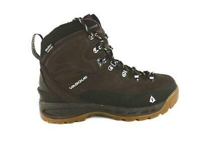 Vasque Snowblime Mens Size 11 44.5 Brown Leather Waterproof Winter Hiking Boots