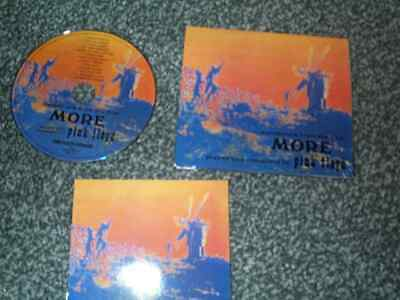 Pink Floyd CD Remastered OST More Digipak Edition + Glossy Booklet *EXC*