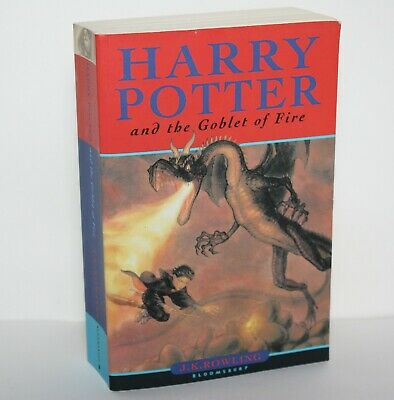 Harry Potter and the Goblet of Fire by J. K. Rowling First Edition 4th Print