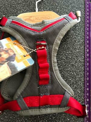 ***Nwt*** Kurgo Dog Journey Harness Grey/Red  Reflective Small - ""
