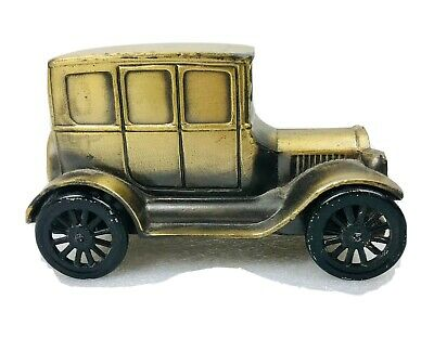 Vintage Metal Car 1926 Model T Ford Coin Bank Banthrico, Inc. Chicago