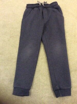 Boys Blue Jogging Bottoms Age 5 From Matalan