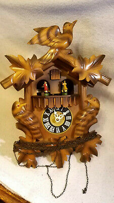 Old Cuckoo Clock For Spares Or Resoration