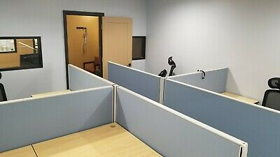 4 Office Cubicles Workstations