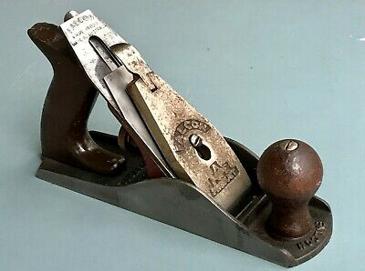 Pope Falcon 6 Australian Vintage Woodworking Smoothing Plane (Size of stanley 4)