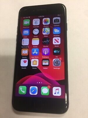 Apple iPhone 7 - 32GB - Black (AT&T But Unlocked) A1778 (GSM)