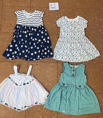 Girls Clothes Bundle Age 2-3 Years Dresses