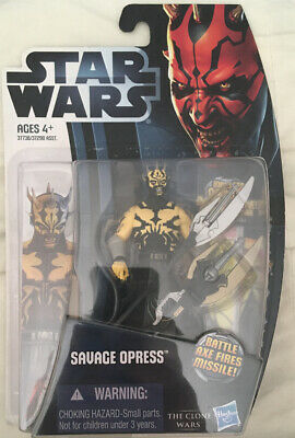 Hasbro Star Wars 2012 Clone Wars Animated Savage Opress CW3 Figure
