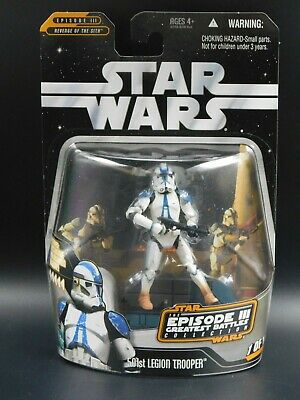 Star Wars The Saga Collection 501st LEGION TROOPER from Revenge of the Sith!!