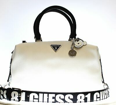 BORSE A MANO Donna Guess Hwsg7662140 Bianco In Ecopelle