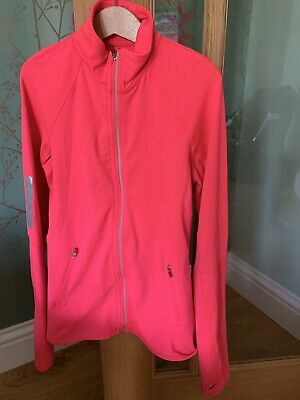 Girls H&M Neon Pink Sports Jacket Age 10-12 Years