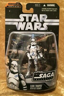Star Wars: The Saga Collection 2006 #059 Clone Trooper Fifth Fleet Security Moc