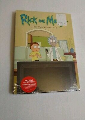 NEW Rick And Morty  The Complete Seasons DVD 1-3   31 Episodes!