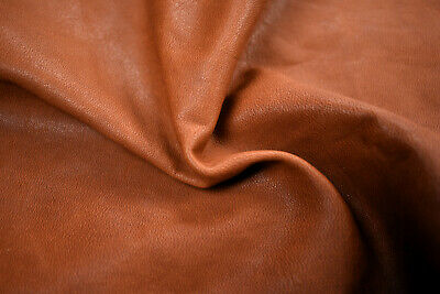 Tan Upholstery remnants Cowhide off cuts Various sizes - Full grain | ANILINE