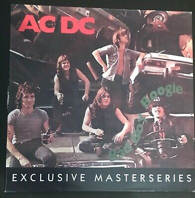 AC /DC,Bad boy boogie,exclusive Masterseries,Bon Scott,European lp 33 T