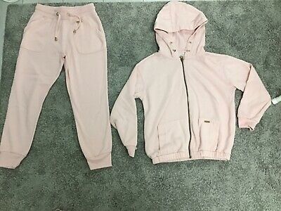 F&F Girls Pink Tracksuit Age 8 -10 Years