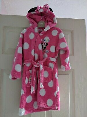 Disney Minnie Mouse Dressing gown House Coat 2 3 Years