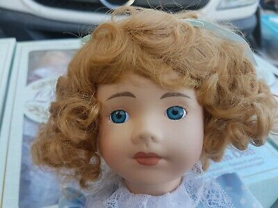 "The Classic Collection Porcelain Doll ""DANIELLA""  never been out of the packet"