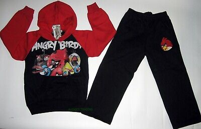 Angry Birds games BNWT 2pc kids boys Tracksuit Hoodie Jacket winter outfit track