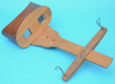 Antique Stereoscope - A W Dobbie - Stereograph / Stereoview viewer - 3D