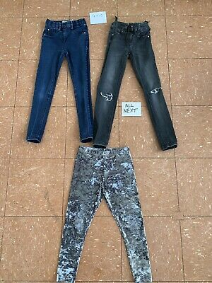 Girls Next Clothes Bundle Age 9-10 Years Leggings Skinny Jeans