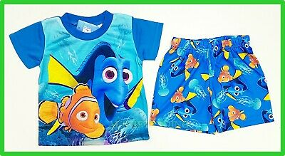 Finding Nemo Dory boys girls Pyjamas kids tshirt top shorts pajamas sleepwear