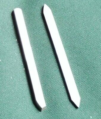 2 miniature blades for Hamlet chatter tool, or other handle.