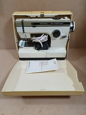 Vintage Frister Rossmann Cub 7 Sewing Machine In Excellent Condition With Extras