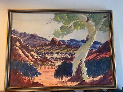 Brendan Raberaba Original Watercolor 1951-1974